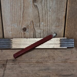 Chocing Good Gereedschap Vouwmodel Duimstok met potlood